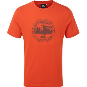 Mountain Equipment Roundel Tee Herrer, paprika